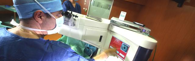L'opération Lasik de Marc en vidéo…